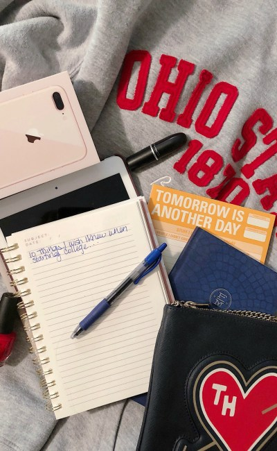 Everything I WISH I Knew When Starting College