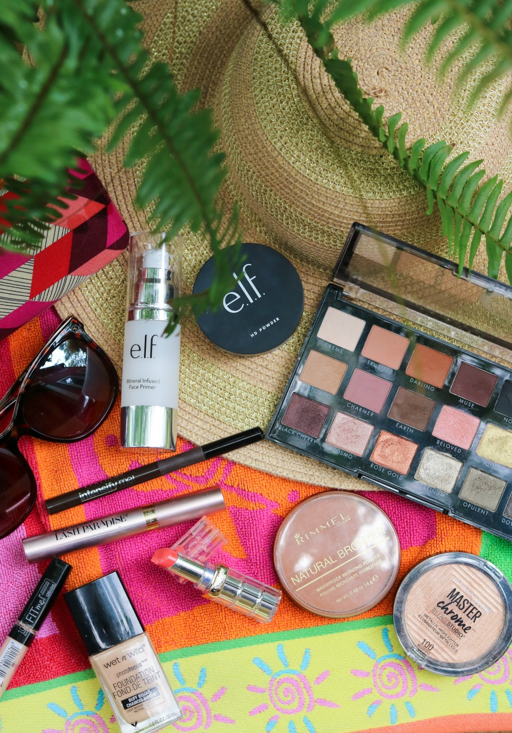 Summer Drugstore Makeup Tutorial I ELF Cosmetics, Loreal, Rimmel and Wet n Wild #summermakeup #makeuptutorial #beautyblogger #makeup