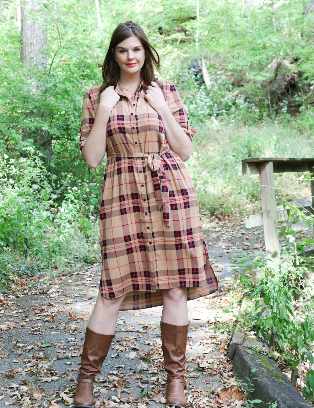 Plaid Styles for Fall 2019 I Fashion Blog DreaminLace.com #fallfashion #styleblog #styleinpso #fashionblogger #fashionista
