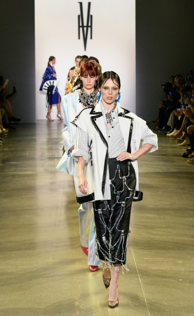 Victoria Hayes Storms New York Fashion Week