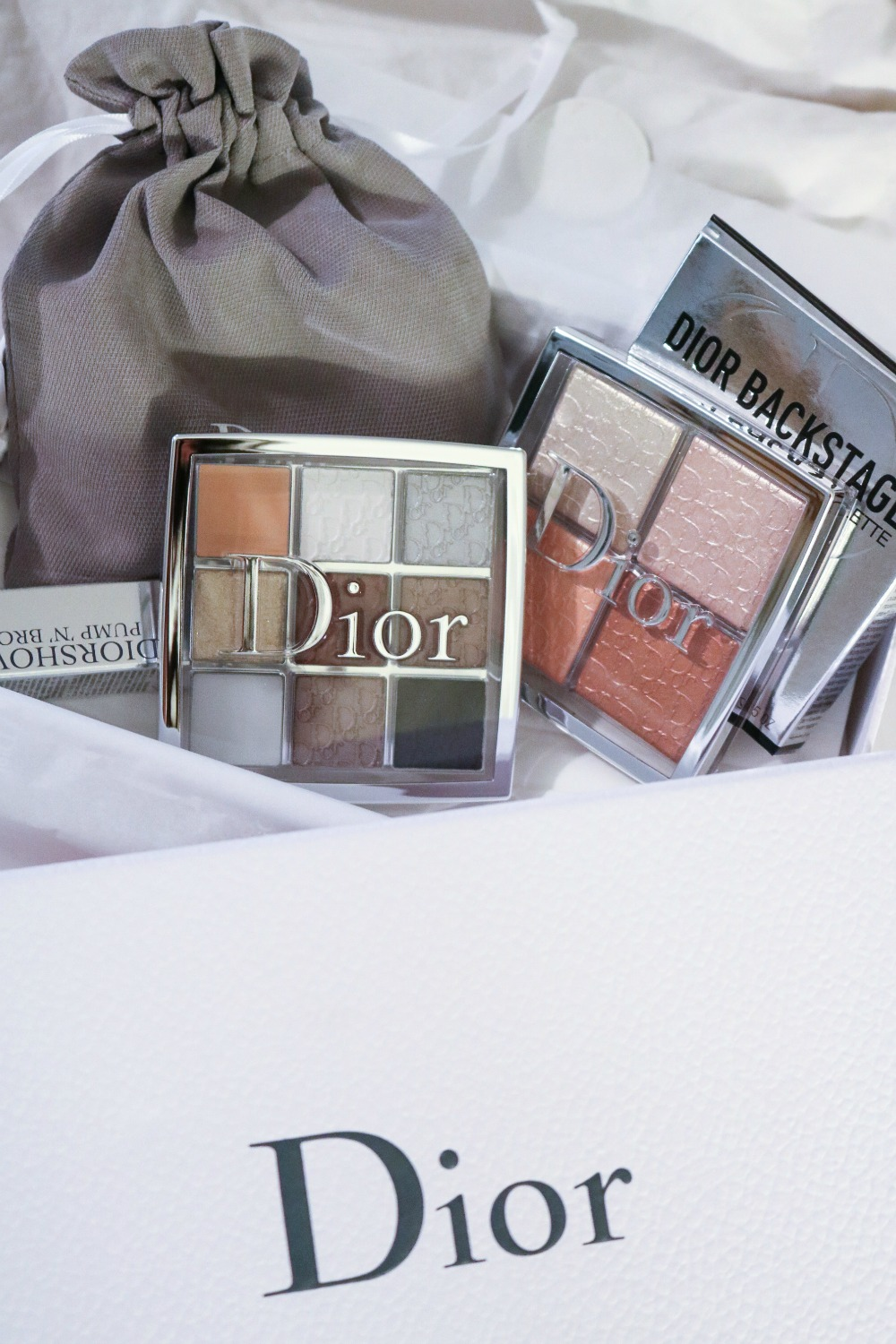 Dior Backstage Glow palette and Custom Eyeshadow Palette I DreaminLace.com