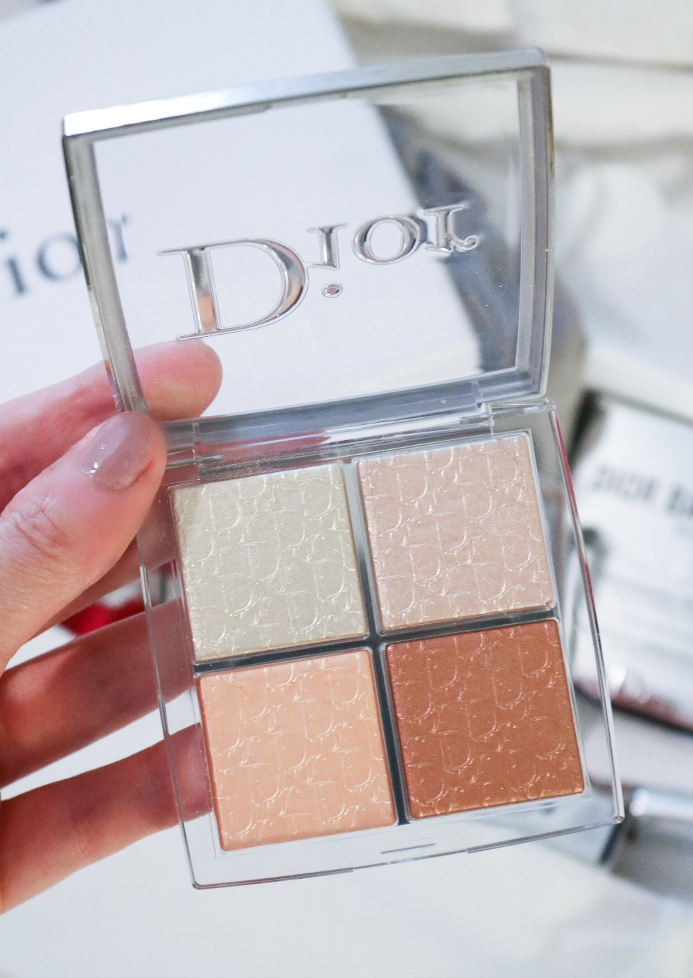 Dior Backstage Glow Palette for Fall 2019 I Dreaminlace.com