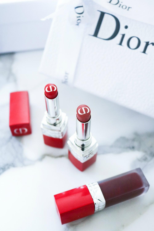 Dior Ultra Care Lipsticks I Luxury Makeup Blog DreaminLace.com #Dior #Makeup