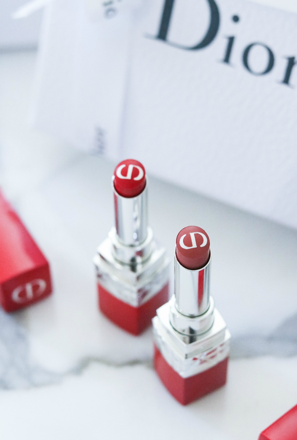 Dior Ultra Care Lipsticks I Luxury Makeup Blog DreaminLace.com #Dior #Makeup