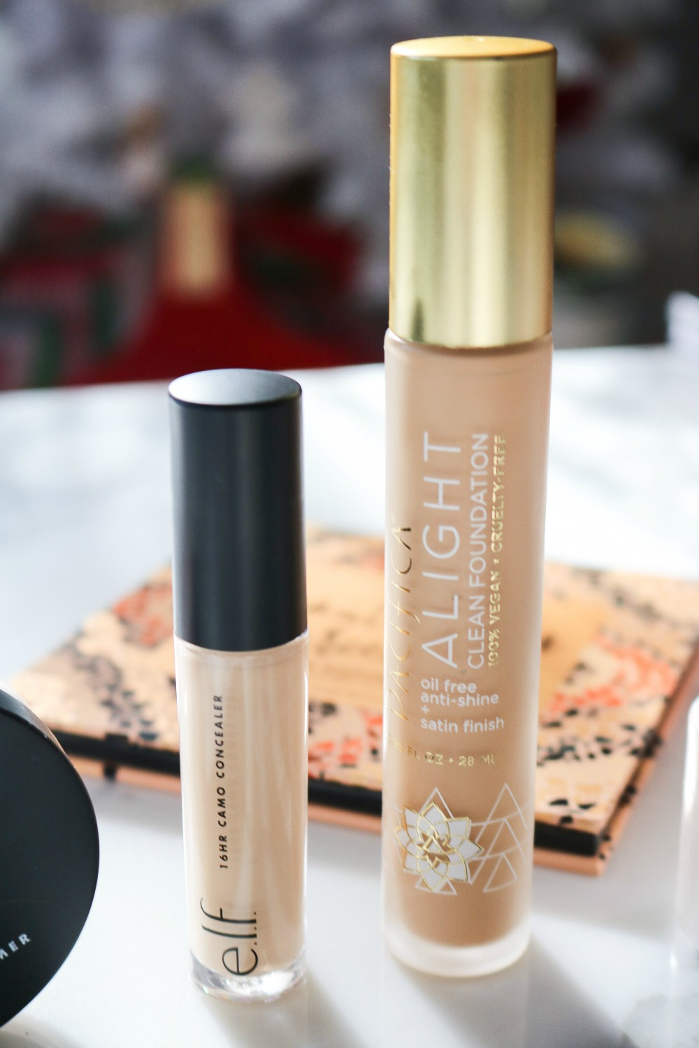 New Drugstore Makeup Testing I ELF Camo Concealer and Pacifica Alight Foundation