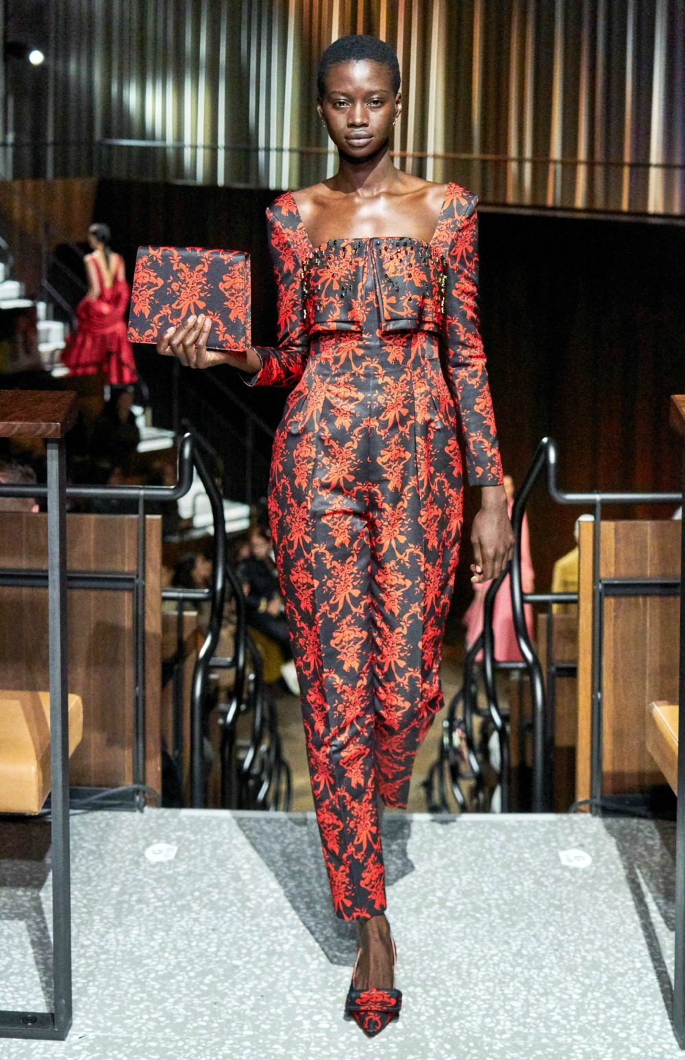 Best LFW Runway Looks I Emilia Wickstead Fall 2020 Collection