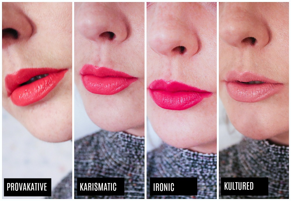 Karl Lagerfeld Loreal Lipstick Collection Review I DreaminLace.com