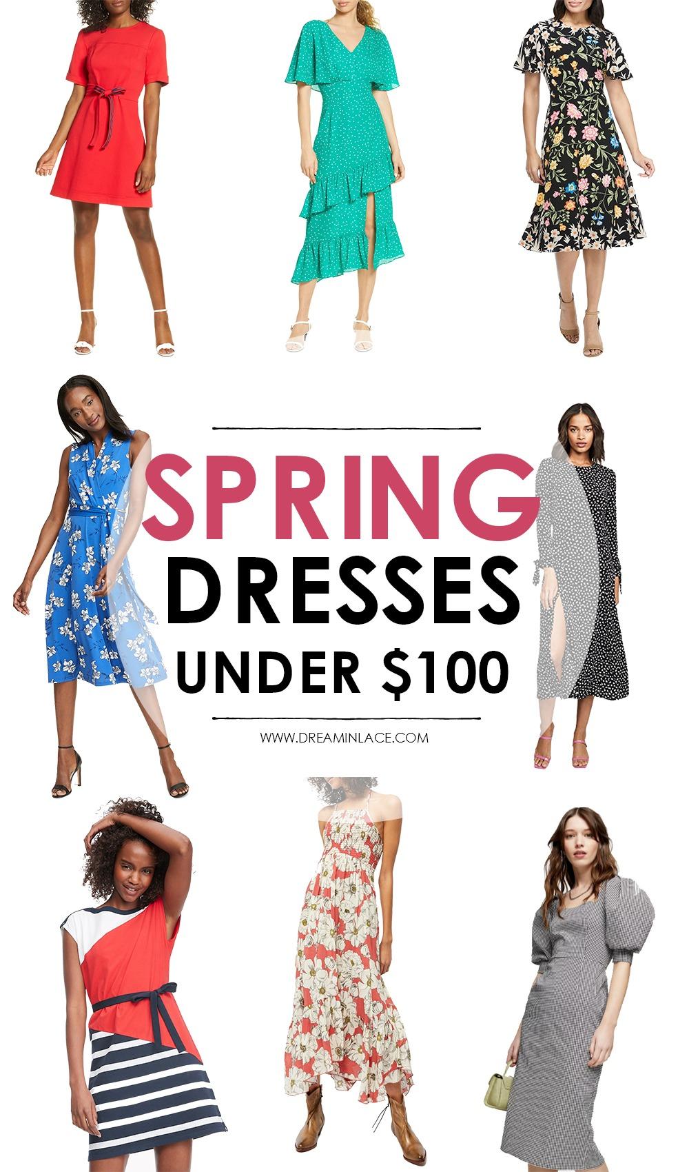 Spring Dresses Under $100 I DreaminLace.com
