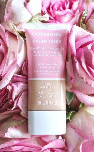 "Meet Covergirl's Vegan ""Clean Fresh"" Foundation"