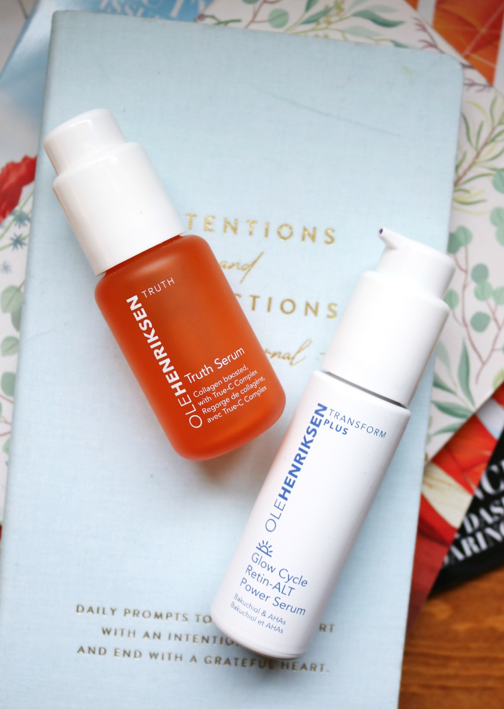 Ole Henriksen Serum Comparison I Truth Vitamin C Serum v Glow Cycle Retin-ALT Power Serum