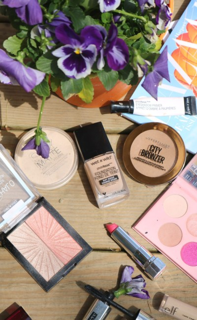 Spring Drugstore Makeup Look