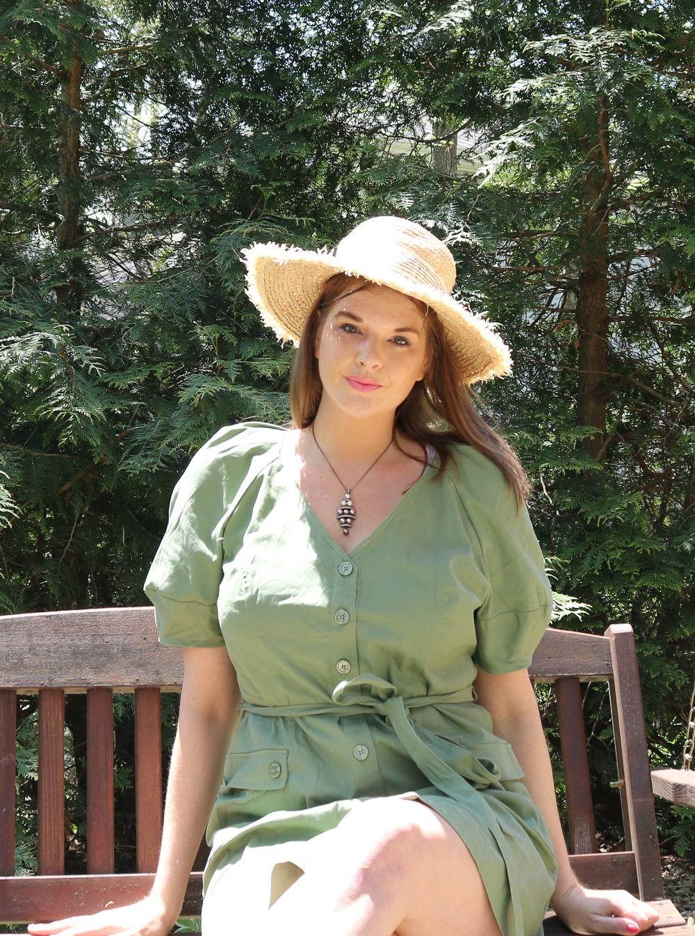 Spring Shirt Dresses Under $100 and Sandals I DreaminLace.com