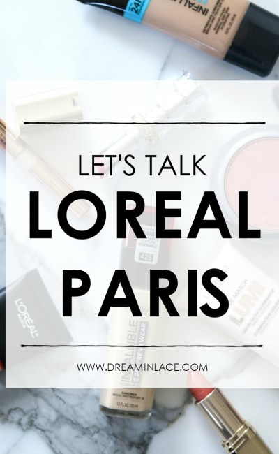 A Message Regarding Loreal Paris
