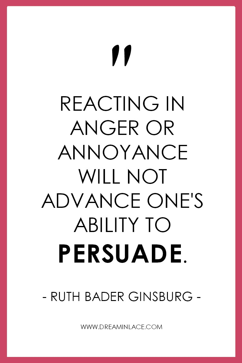 13 Inspiring Ruth Bader Ginsburg Quotes to Live By I DreaminLace.com #NotoriousRBG #QuotestoLiveBy #RuthBaderGinsburg