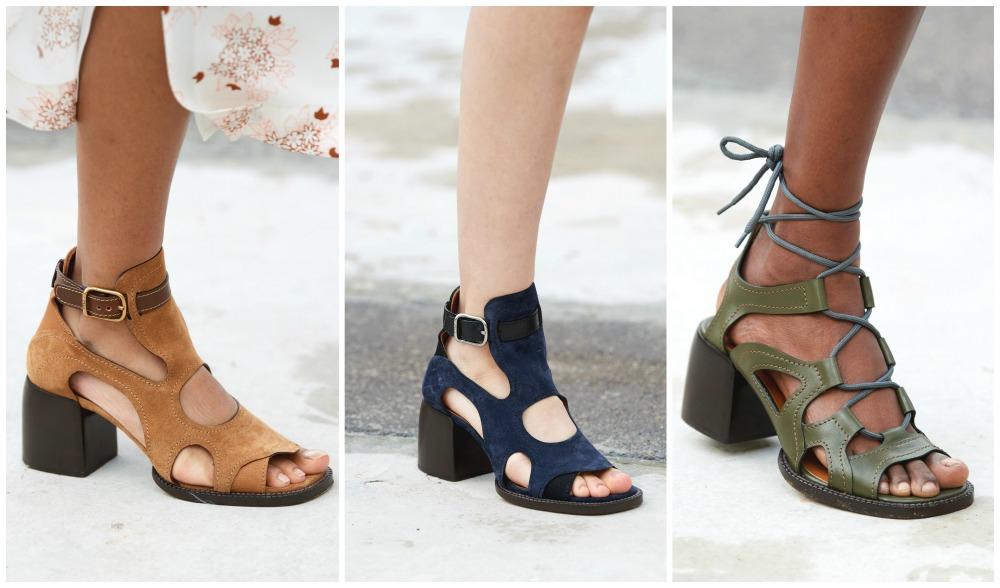 Chloe Spring 2021 Sandal Collection I Paris Fashion Week Runway #parisfashionweek #SS21 #womenswear