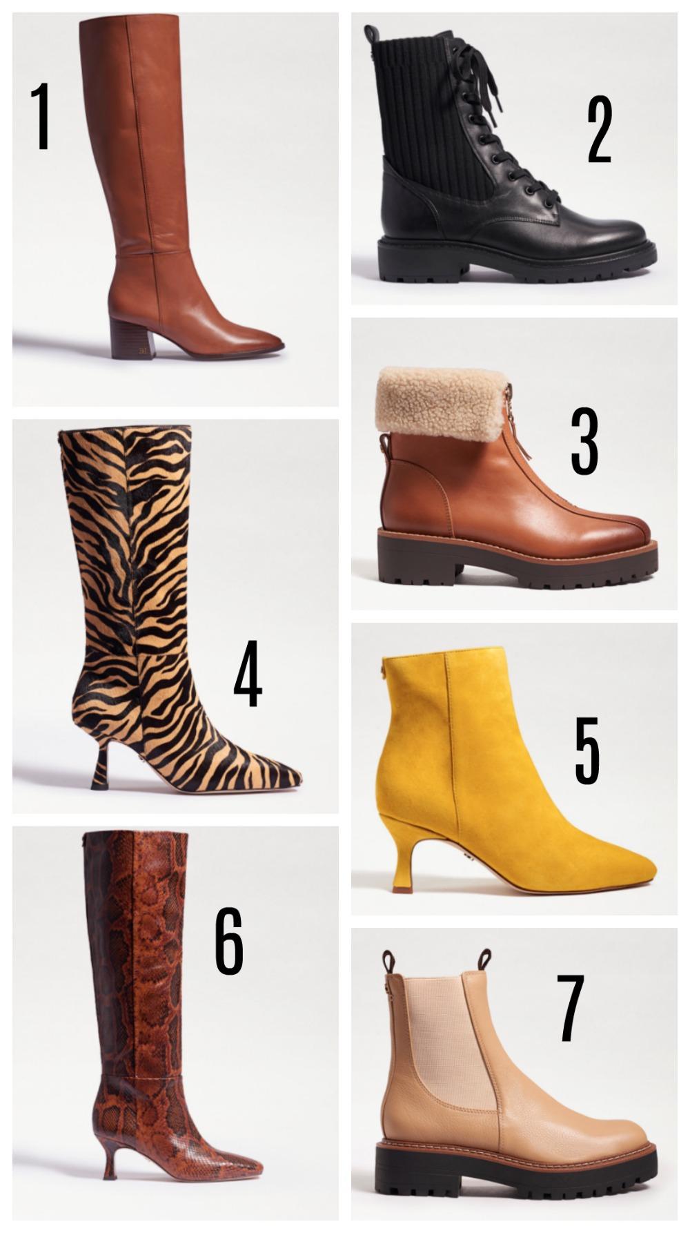 Sam Edelman Fall 2020 Boots Collection I Dreaminlace.com #fallfashion #boots #womensfashion