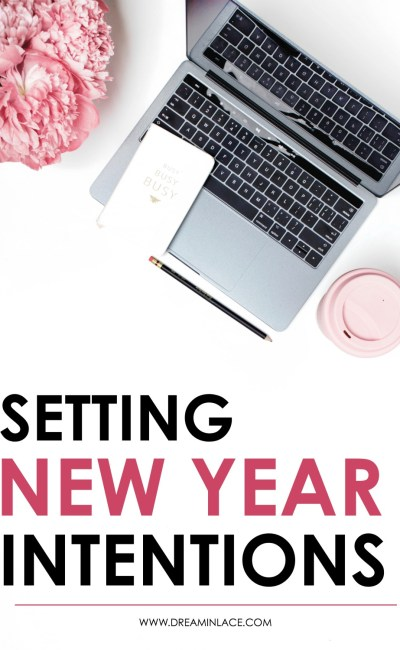Setting Intentions for the New Year with a FREE Template
