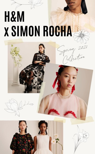 The HM Simone Rocha Collection Has (FINALLY) Arrived!