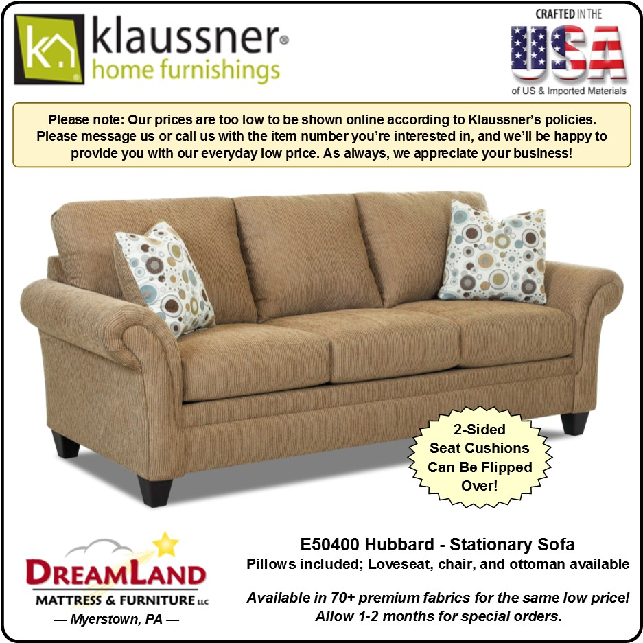 Stationary Sofa E50400 Hubbard