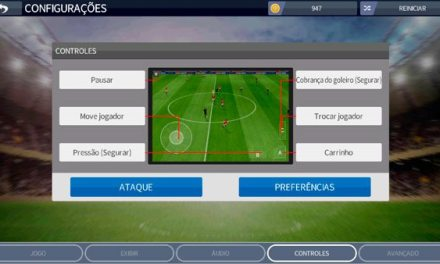 Como Alterar a configuração do controle no DREAM LEAGUE SOCCER 2020