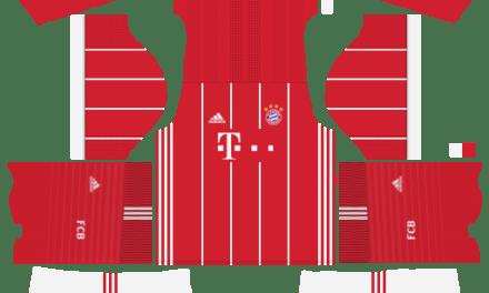 Kit Bayern Munchen 2019 novo uniforme para DLS 20 – Dream League Soccer