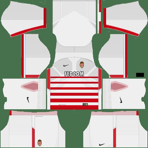 Kit Monaco dls17 home - uniforme casa