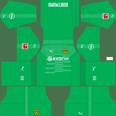 Kit-borussia-dortmund-dls-away-Gk-uniforme-goleiro-fora-de-casa-18-19