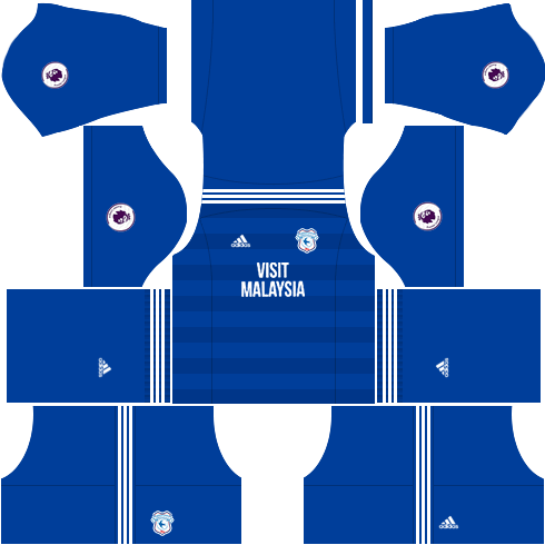 Kit-cardiff-city-dls-home-uniforme-casa-18-19