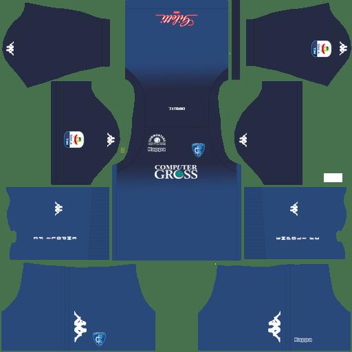 Kit empoli dls home uniforme casa 18-19