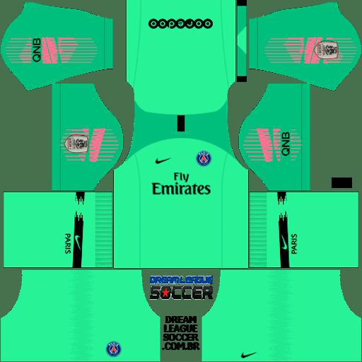 kit-PSG-dls18-home-Gk-uniforme-goleiro-casa-18-19