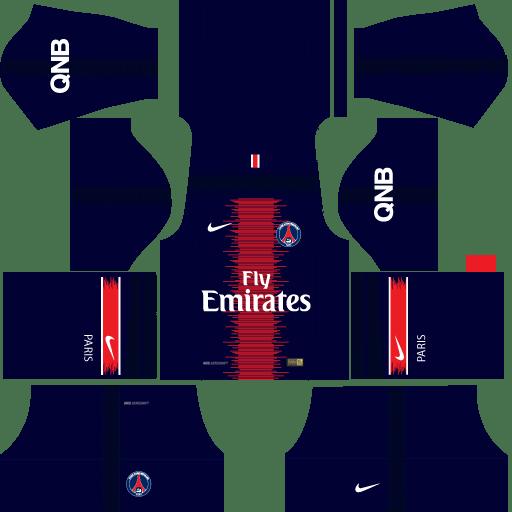 kit-PSG-dls18-home-uniforme-casa-18-19