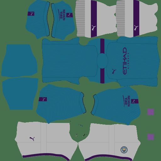 Kit Manchester City 2019 2020 Dream League Soccer Kits Url 512 512 Dls