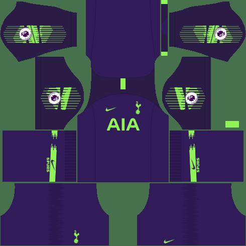 kit-tottenham-dls-home-Gk-uniforme-goleiro-casa-18-19