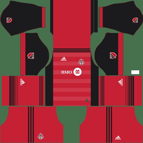 Toronto FC Home Kits DLS 2018