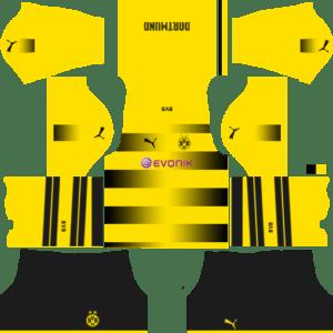 Borussia Dortmund Home Kits DLS 2018