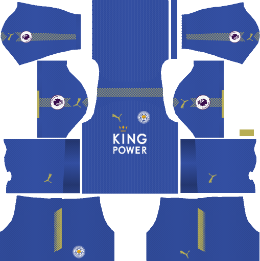 Leicester City Home Kits DLS 2018