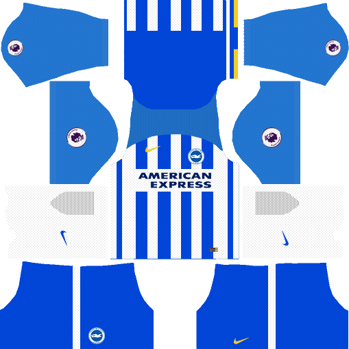 Brighton & Hove Albion F.C. Home Kits DLS 2018