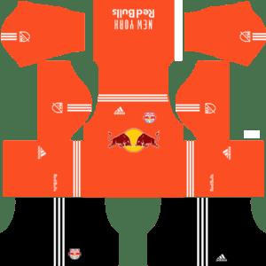 New York Red Bulls Goalkeeper Away Kits DLS 2018