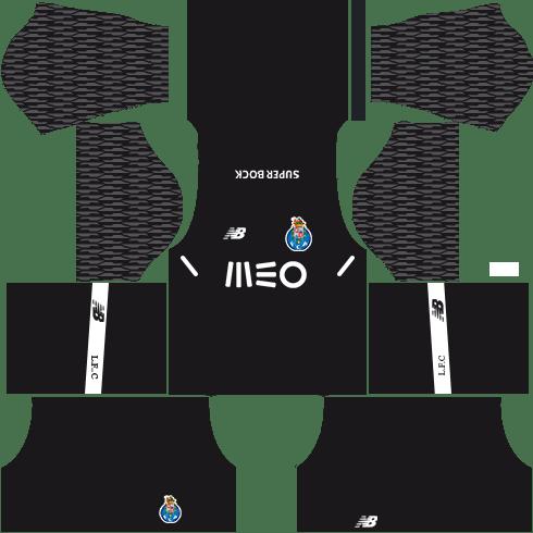 FC Porto Goalkeeper Away Kits DLs 2018