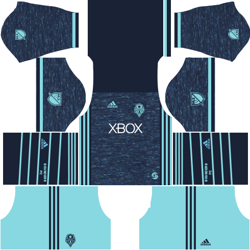 Seattle Sounders FC Third Kits DLS 2018