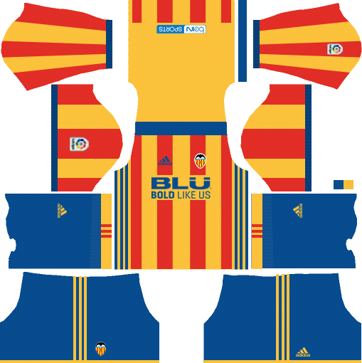 Valencia CF Away Kits DLS 2018