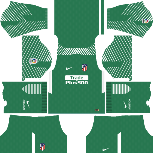 Atlético Madrid Goalkeeper Away Kits DLS 2018