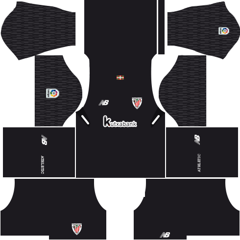 Athletic Bilbao Goalkeeper Third Kits DLS 2018