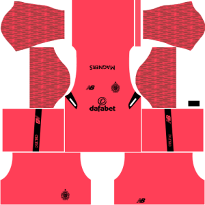 Celtic FC Goalkeeper Third Kit DLS 2018