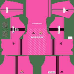 Yokohama F. Marinos Goalkeeper Home Kits DLS 2018