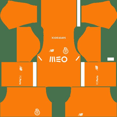 FC Porto Away Kits DLS 2018