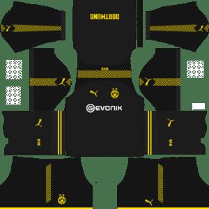 Borussia Dortmund Away Kits DLS 2018