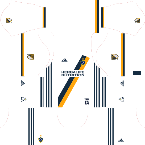 LA Galaxy Home Kits DLS 2018