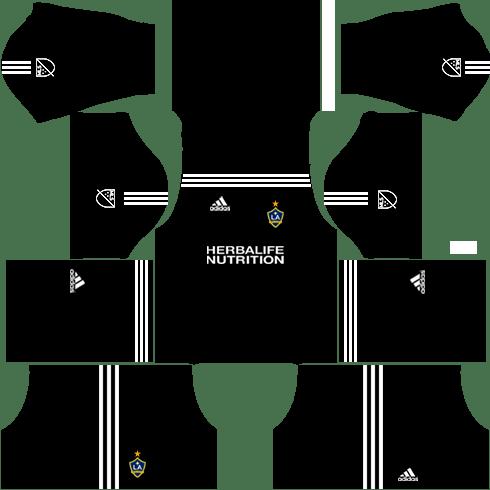 LA Galaxy Goalkeeper Home Kits DLS 2018