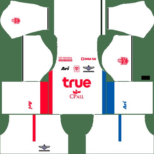 Bangkok United Kits Third DLS 2018